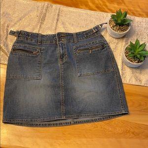 2/$15 L.A. Blues jean skirt